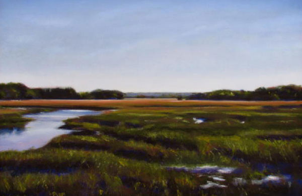 savannah river marsh painting